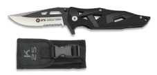 K25 Black Feather Folding Knife